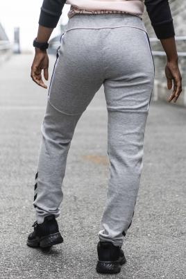 Hummel - hmlNIRVANA SLIM PANTS grå