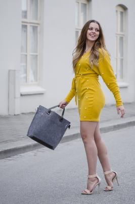 Genser - North Exclusive Kathrine Sennep gul