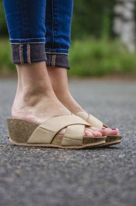 Sandaler - Linda beige