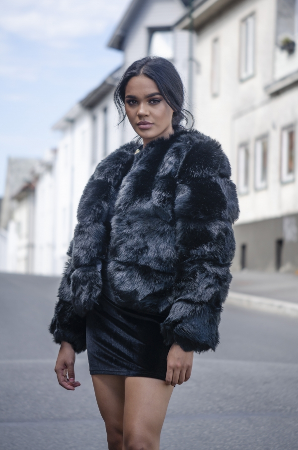 Jakke - North Exclusive Eloise svart