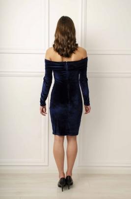 Kjole - Karola blå