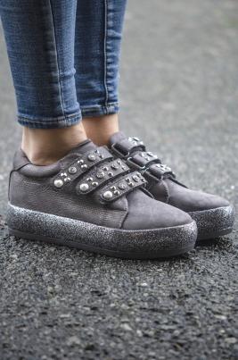 Sneakers - Beate grå