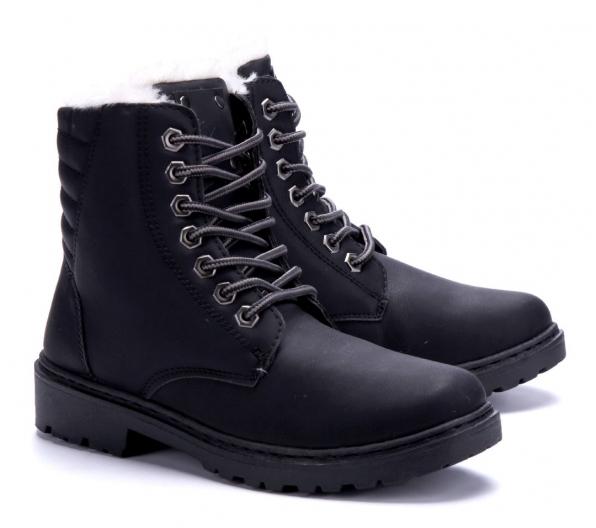 Boots - Marit svart Vinter