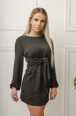 Kjole - Amber svart