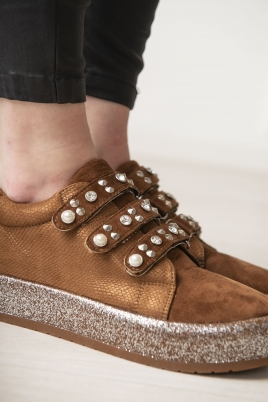 Sneakers - Beate camel