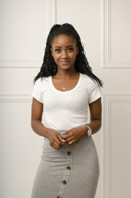 T-Skjorte - Lorena hvit