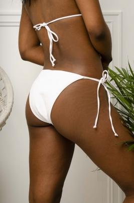 Bikinitruse - Allison hvit
