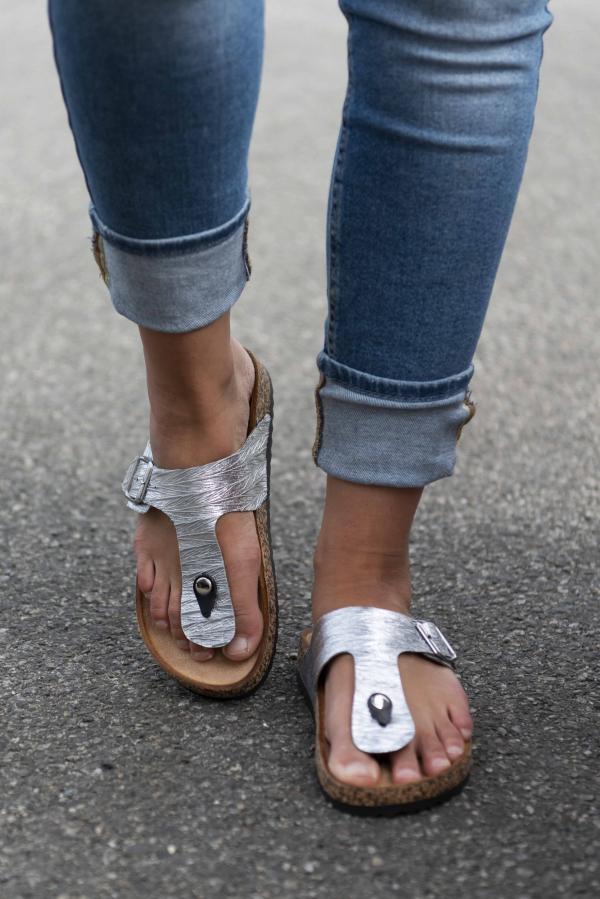 Sandaler - Sally sølv