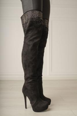 Støvletter - Julia svart
