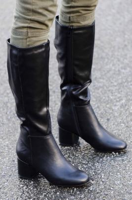 Støvletter - Andrea svart