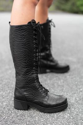 Støvletter - Anne svart
