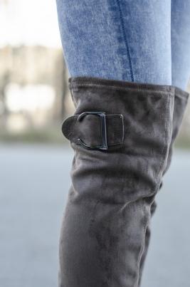 Støvletter - Cora grå