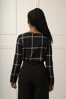 Skjorte - Evelyn svart