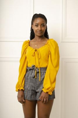 Skjorte - Tessa gul