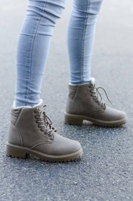 Boots - Emma Khaki Vinter