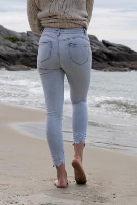 Jeans - Gunn lysblå