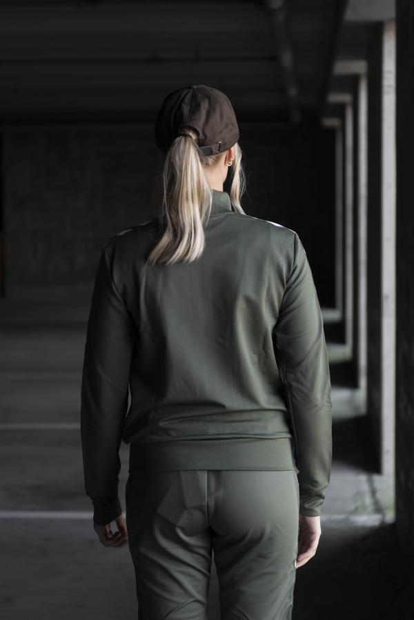 Hummel - NELLY Zip Jacket grønn