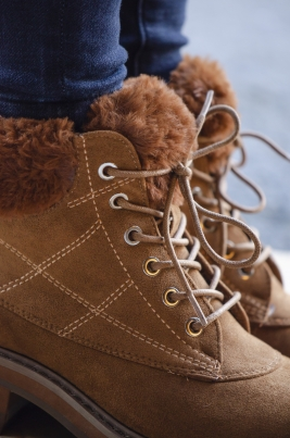 Boots - Sanna camel