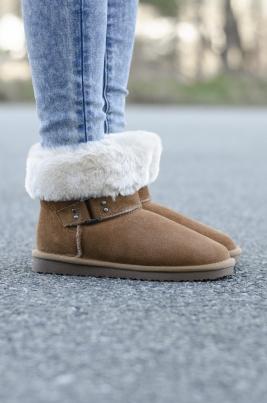 Boots - Melia camel