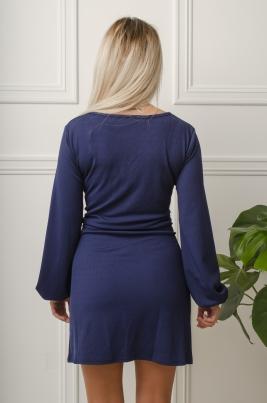 Kjole - Amber blå