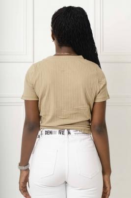 T-Skjorte - Silje beige