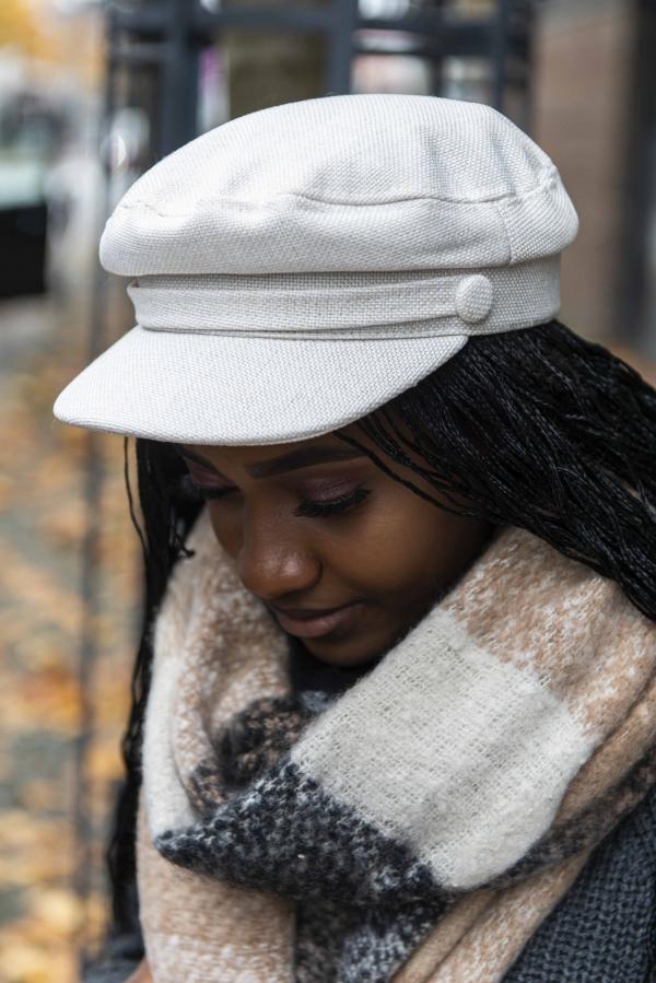 Hatt - Lilly hvit