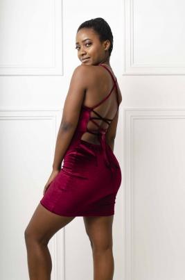 Kjole - Isabell rød