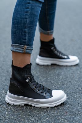 Sneakers - Esther svart