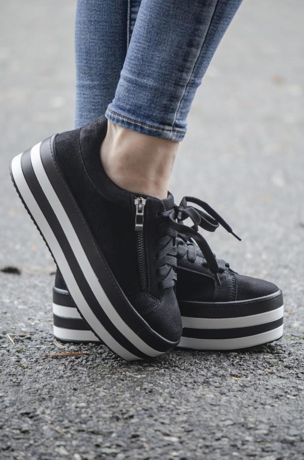 Sneakers - Eilis svart