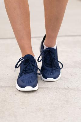 Sneakers - Lene navy/svart