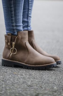 Boots - Andrea khaki