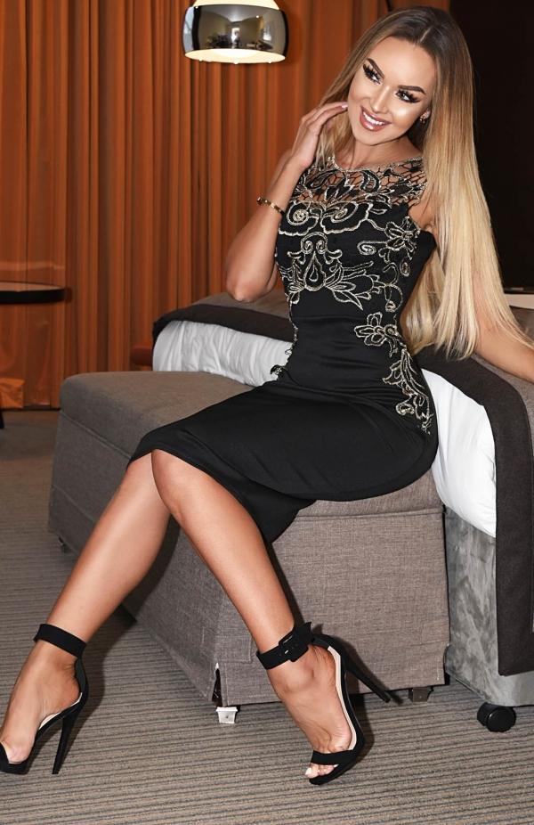 Kjole - Kara svart