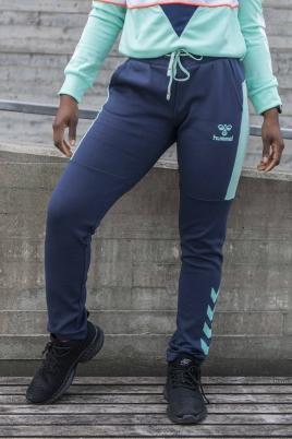 Hummel - hmlNIRVANA SLIM PANTS blå