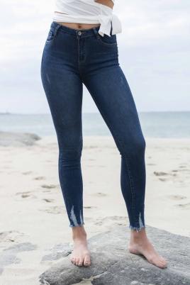 Jeans - Kaja Tencel® blå