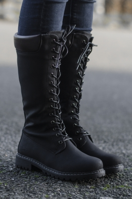 Støvletter - Quinn svart