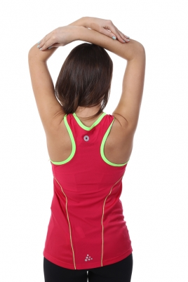 Treningstopp - Craft Devotion Singlet rosa