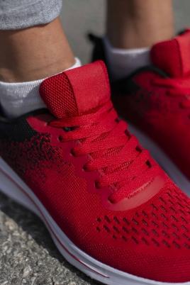 Sneakers - Jorunn rød/svart
