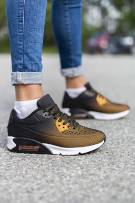 Sneakers - Åse brun/svart