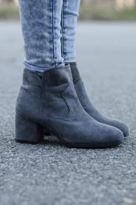 Støvletter - Connie grå