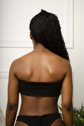 Bikinitopp - Caroline svart