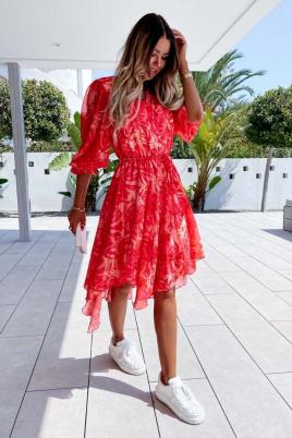 Kjole - Nanna rød