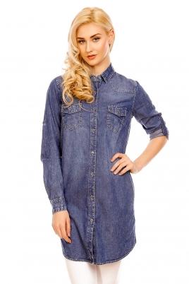 Skjorte - Daria blå