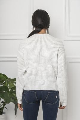 Genser - Lotte hvit