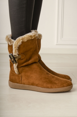Boots - Camille camel