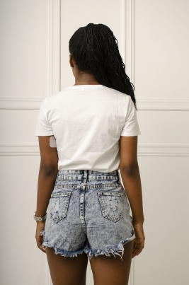 T-Skjorte - Kate hvit