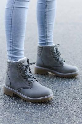 Boots - Emma Grå Vinter