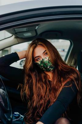 Maske - Militær grønn