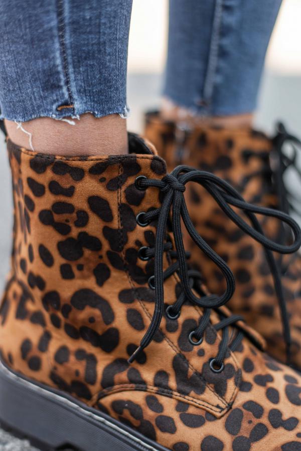 Boots - Silje leopard
