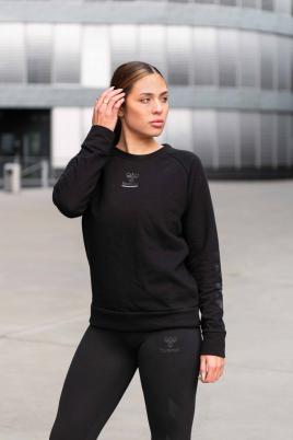 Hummel - HML NONI Sweatshirt svart