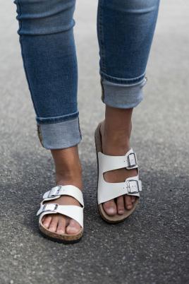 Sandaler - Stine hvit